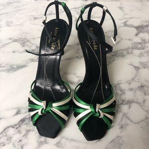 Kate Spade caged back heels